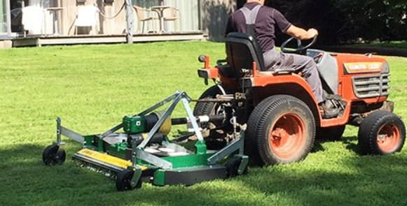 use Finish Mower for wide land