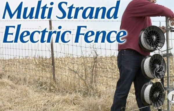 4-5 Strand Electric Fencing