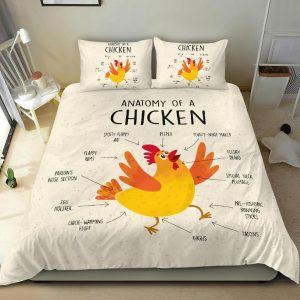 Anatomy of a Chicken Bedding Set
