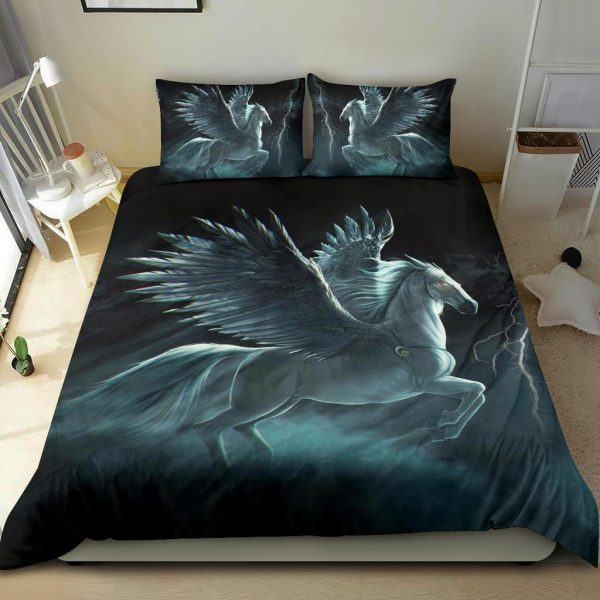 Angel Horse with Wings Bedding Set