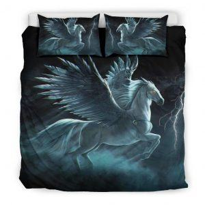 Angel Horse with Wings Bedding Set King