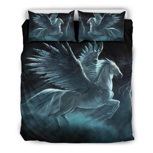 Angel Horse with Wings Bedding Set Queen