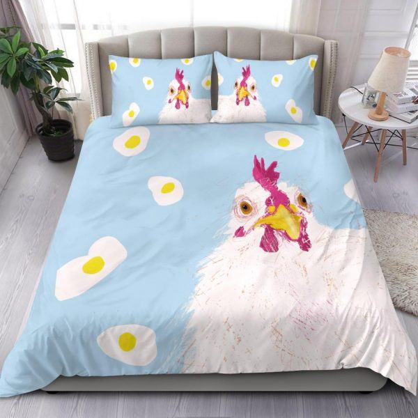 Mother Chicken Hen with Egg Bedding Set
