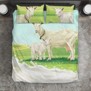 Mother and Baby Goat Bedding Set