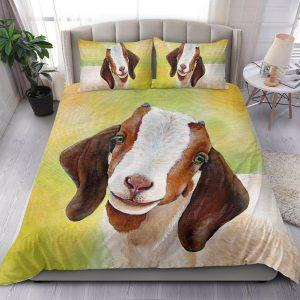 Realistic Baby Goat Bedding Set
