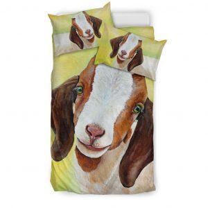 Realistic Baby Goat Bedding Set Twin