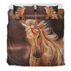 Strong Horse Bedding Set King
