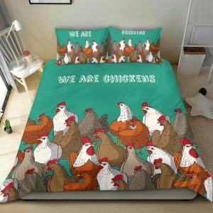 We Are Chicken Bedding Set