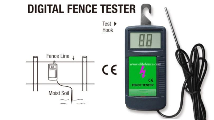 how to use electric fence tester
