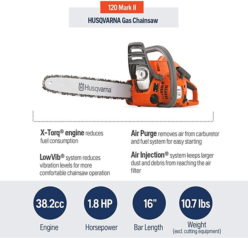 Husqvarna 120 Mark II Features