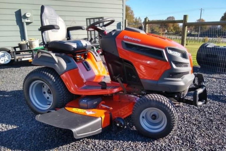 Husqvarna TS 348XD Garden Tractor Review