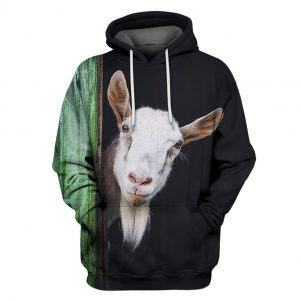 Beautiful Goat All Over Print 3D Hoodie