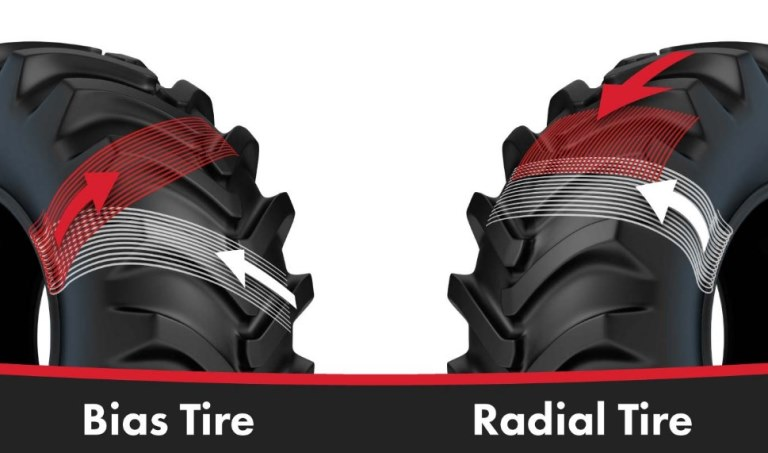 Radial tire & Bias-ply tractor tire
