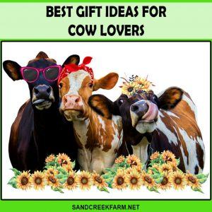 ideas of best gift for cow lover