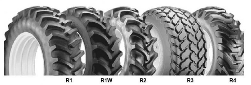 type of tractor tires
