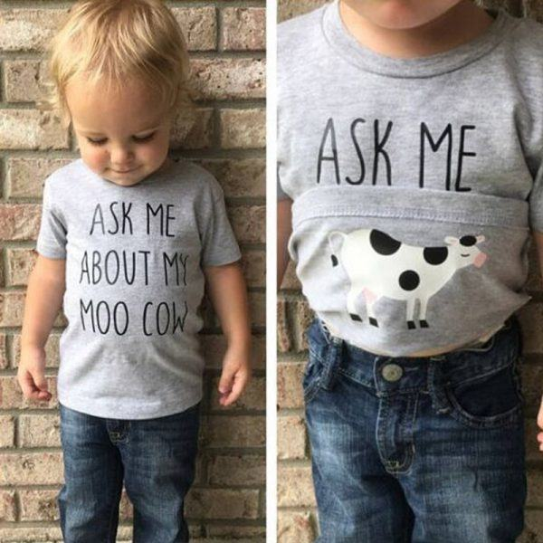 Ask Me About My Moo Cow shirt show