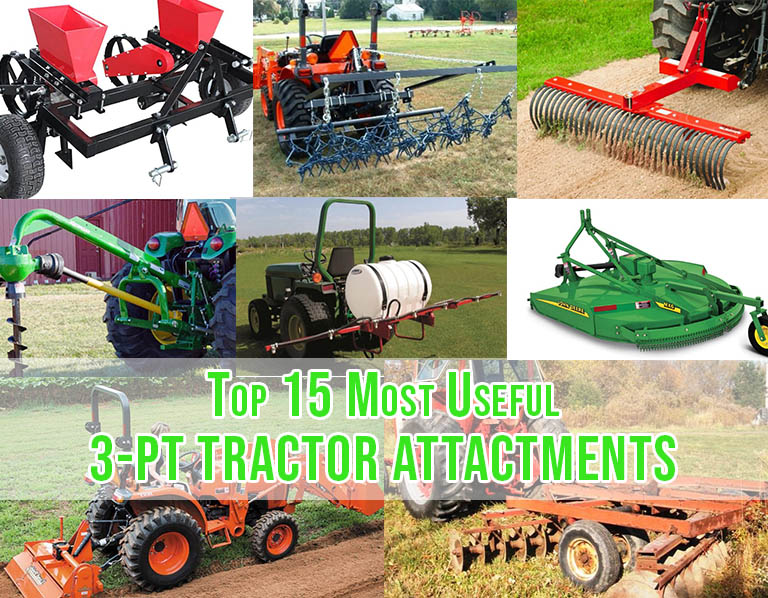 most usefull 3 point tractor attachments