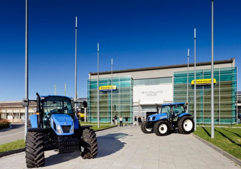 New Holland headquarters in Turin, Italy