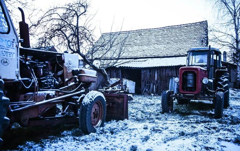 Starting Tractor In Cold Weather