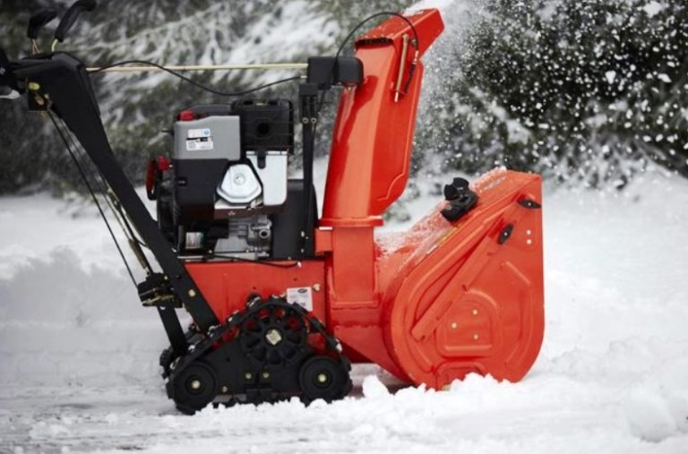 best snow blower with tracks reviews