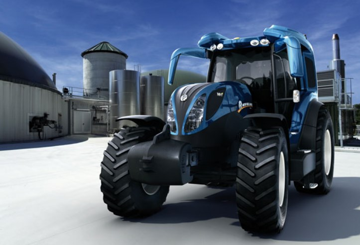 hydrogen-powered tractors of New Holland
